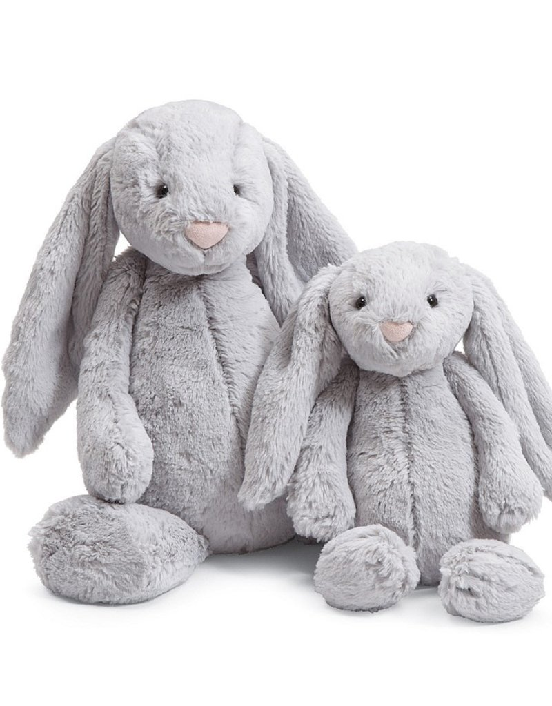 Jellycat medium grey bashful bunny