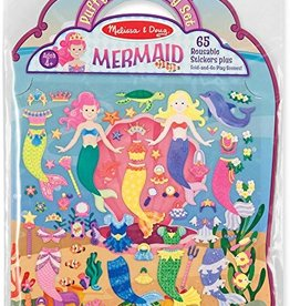 Melissa and Doug Mermaid Puffy Stickers