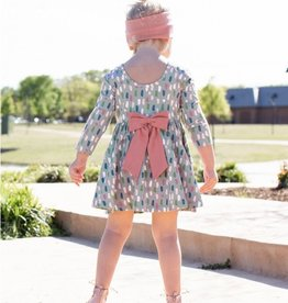 RuffleButts/RuggedButts Brushed Confetti Twirl Dress