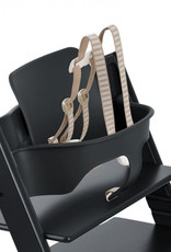 Stokke TRIPP TRAPP Baby Set with Harness and Extended Glider in Black