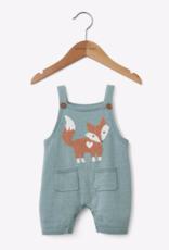 Elegant Baby SHORTALL FOX TEAL