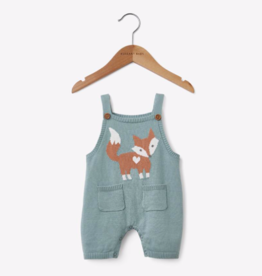 Elegant Baby SHORTALL FOX TEAL