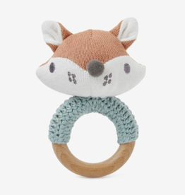 Elegant Baby FOX RING RATTLE