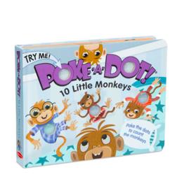 Melissa and Doug Poke-A-Dot 10 Little Monkeys