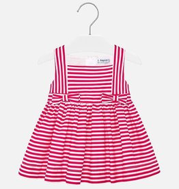 Mayoral Strawberry Striped Baby Sundress