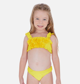 Mayoral Bright Yellow Flower Bikini