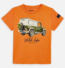 Mayoral Orange Jeep Tee