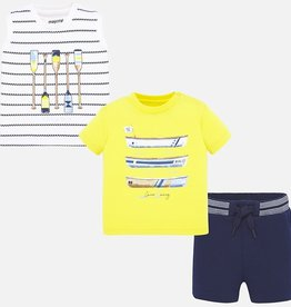 Mayoral Navy Boys Palm Set
