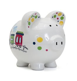Choo Choo Transportation Piggy Bank