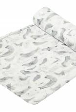 Angel Dear Angel Dear Bamboo Swaddle Blanket - Seals