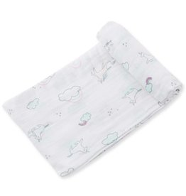 Angel Dear Angel Dear Bamboo Swaddle Blanket - Unicorn