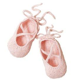 Elegant Baby Pink Ballerina Bootie