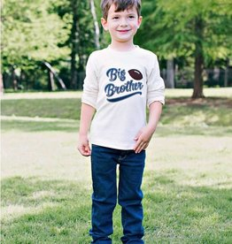 RuffleButts/RuggedButts Rufflebutts Big Brother Football Long Sleeve