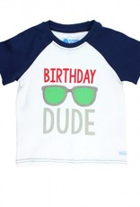 RuffleButts/RuggedButts Rufflebutts Birthday Dude Raglan Tee