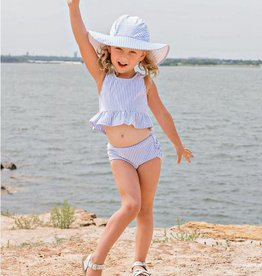 RuffleButts/RuggedButts Periwinkle Blue Swim Hat