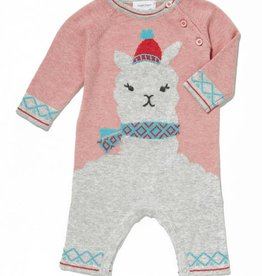 Angel Dear Angel Dear Llama Knit Coverall
