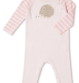 Angel Dear Angel Dear HedgeHog Knit Coverall- Pink or Blue