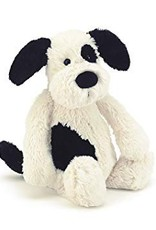 Jellycat Bashful Black & Cream Puppy- Large