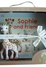 Sophie La Giraffe Sophie la girafe & Sophie and friends book - Gift Set