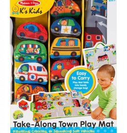 Melissa and Doug Take-Along Town Play Mat