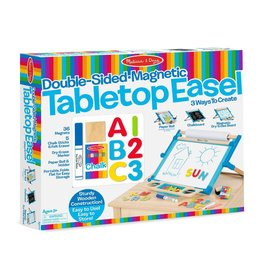 Melissa and Doug Double-Sided Magnetic Tabletop Easel