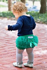 RuffleButts Rufflebutts Emerald Frilly Knit RuffleButt