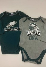 Creative Knitwear 2 pk. Eagles BodySuits