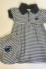 Creative Knitwear Penn State Striped Dress w/ Bloomer