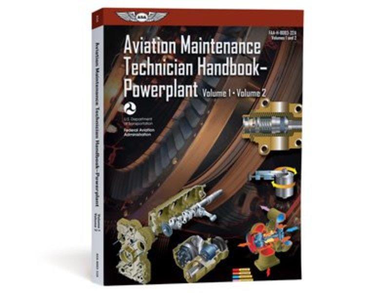 ASA Aviation Maintenance Technician Handbook: Powerplant Volumes 1 and 2