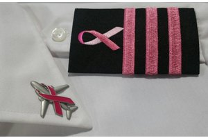 Epaulettes: Black, Pink, 3 Bar