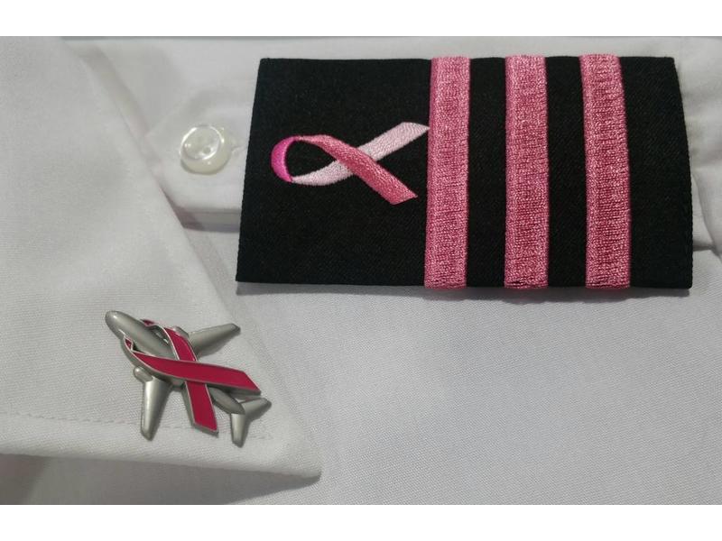 Epaulettes: Black, Pink, 3 Bar