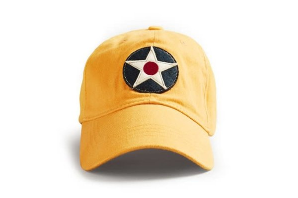 Red Canoe Cap Roundel Yellow