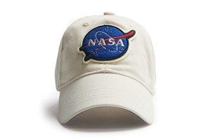 Red Canoe Cap NASA white