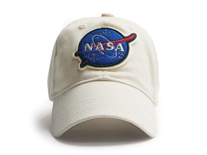 Red Canoe Cap NASA white