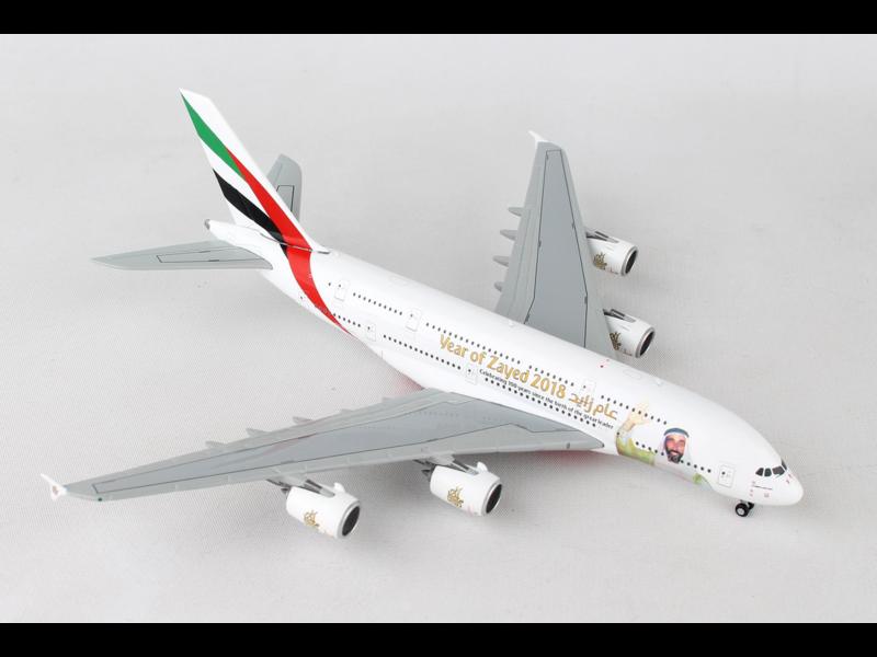 EMIRATES A380 1/400 SHEIK ZAYED