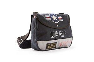Red Canoe USAF Shoulder Bag Navy