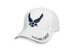 Rothco Cap: White USAF Wing
