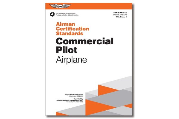 ASA ACS: Commercial Pilot Airplane