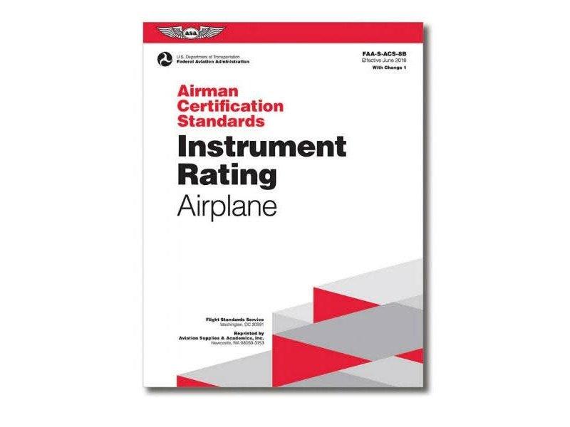 ASA ACS: Instrument Rating Airplane