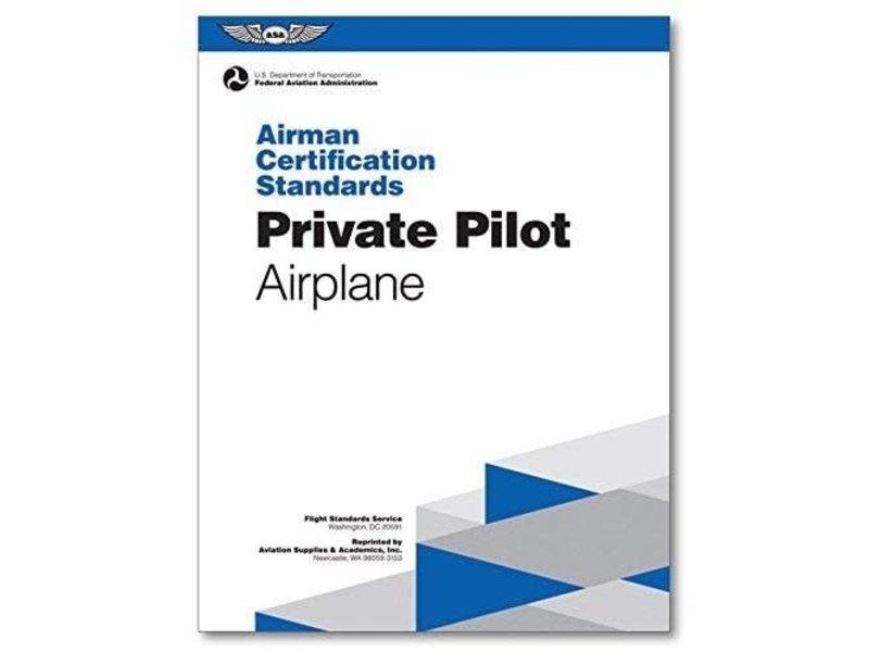 ASA ACS: Private Pilot Airplane