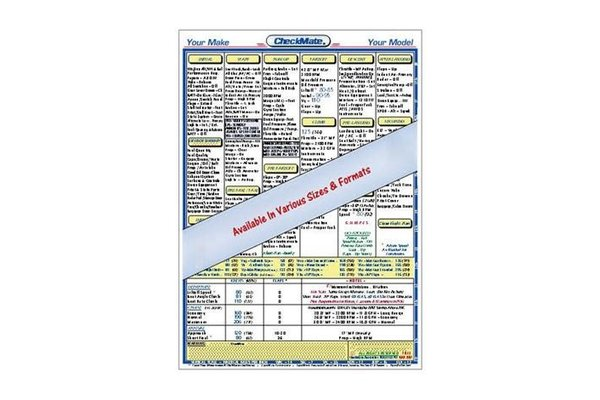 Wayman Pilot Supplies Checklist: Cessna 172M