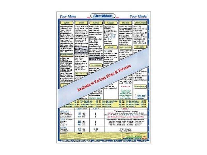 CHECKMATE AVIATION INC. Checklist: Seneca III 1999