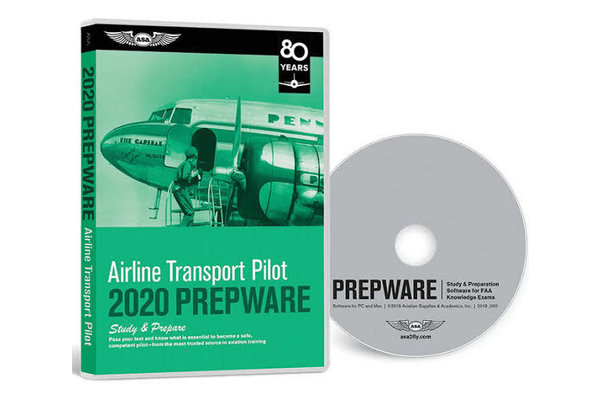 PREPWARE: Airline Transport Pilot ATP, 2020