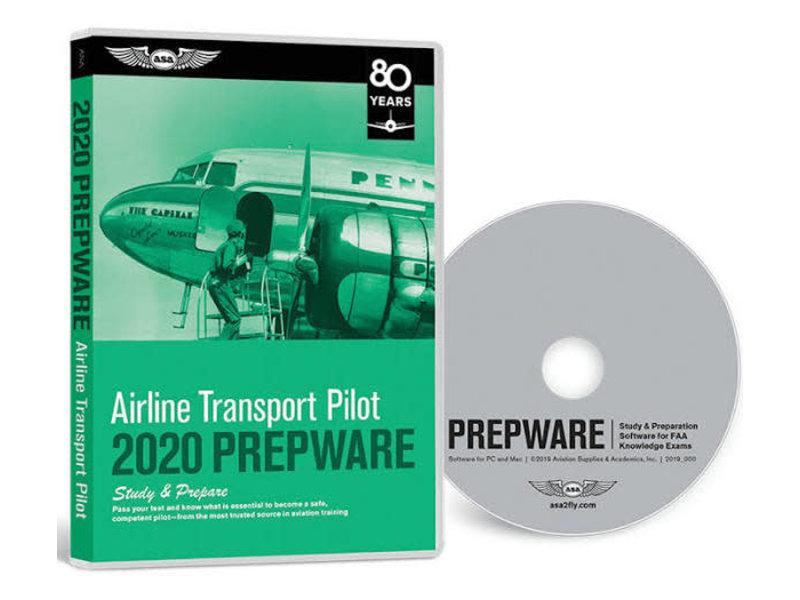 PREPWARE: Airline Transport Pilot ATP, 2020 *outlet