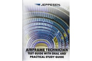 Jeppesen Sanderson A&P Airframe Test Guide with Oral & Practical Study Guide