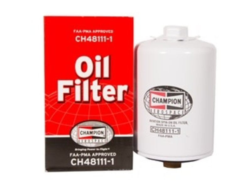 Oil Filter: CH48111-1