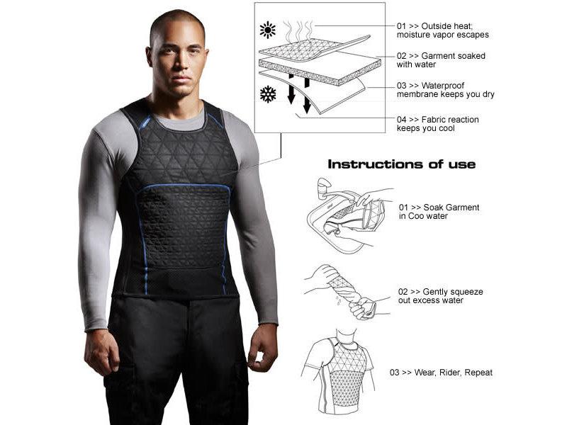 Cooling Vest Liquid