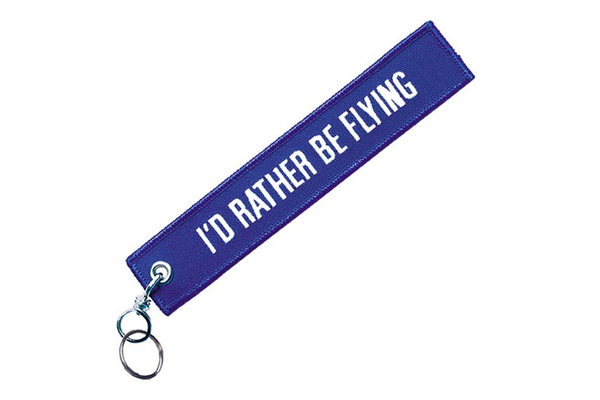 Key Chain: I'd Rather Be Flying