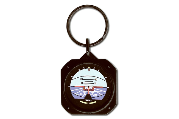 Artificial Horizon Key Chain