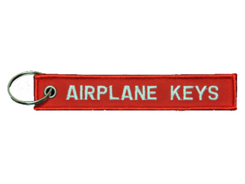 Key Chain: Airplane Keys